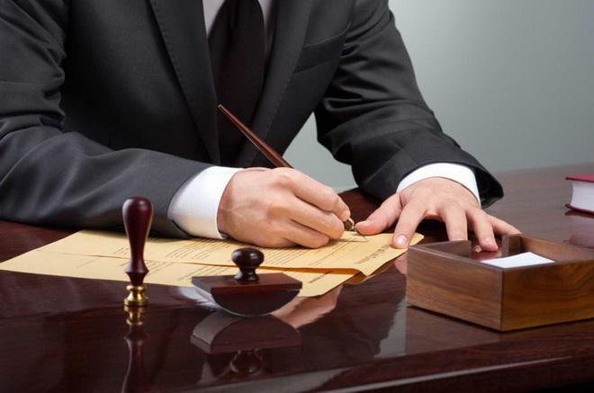 юрист за работой