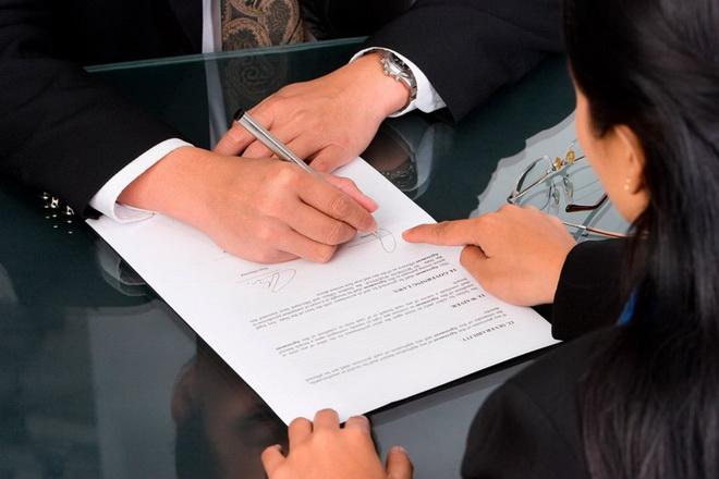 руки и контракт