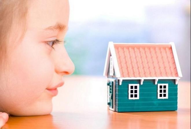 жилье детям при разворе
